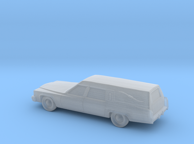 1/220 1985-89 Cadillac Hearse in Smooth Fine Detail Plastic