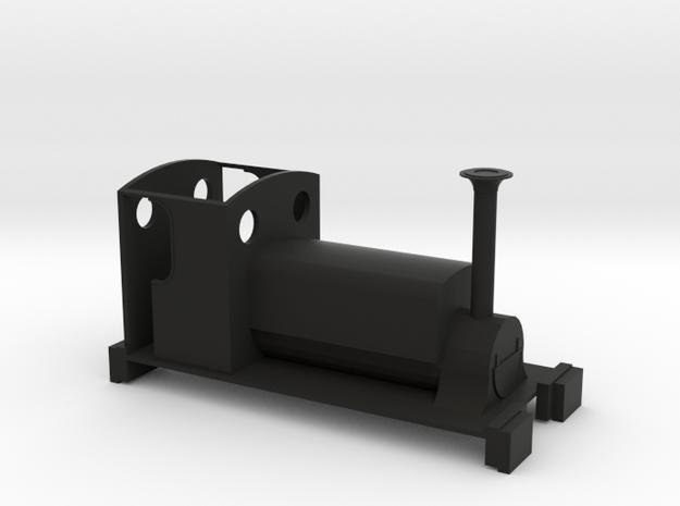 Freelance Manning Wardle 0-4-0ST - Non Motorised in Black Natural Versatile Plastic
