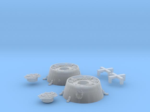 Bandai Falcon Docking Rings 1/144 #2, Pushbuttons