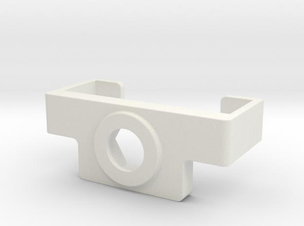 Mini Ray holder  in White Natural Versatile Plastic