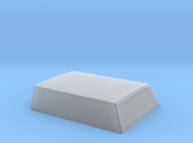 Datsun 620 Bed topper closed version in Smooth Fine Detail Plastic