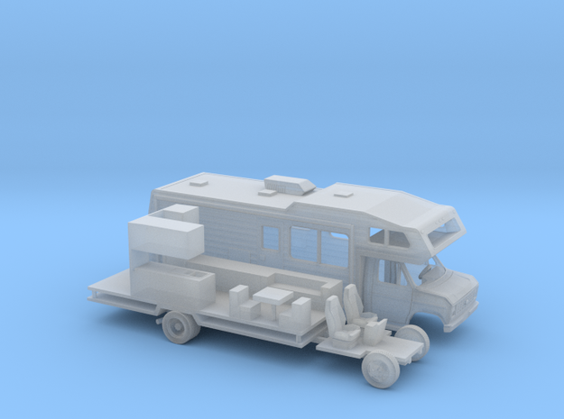 1/220 1975 -91 Ford E-Series RV Kit in Smooth Fine Detail Plastic