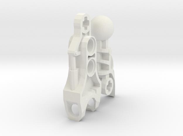 Kardatoran Arm Set V2 in White Natural Versatile Plastic