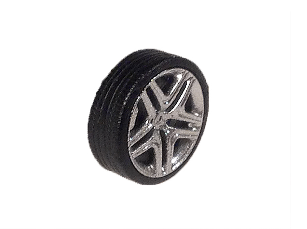 """1/87 - 20"""" AMG-Rim for G63 in Smooth Fine Detail Plastic: 1:87 - HO"""