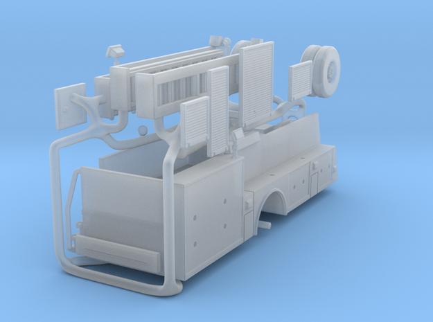 1/160 Single Axle Snorkel body in Smooth Fine Detail Plastic