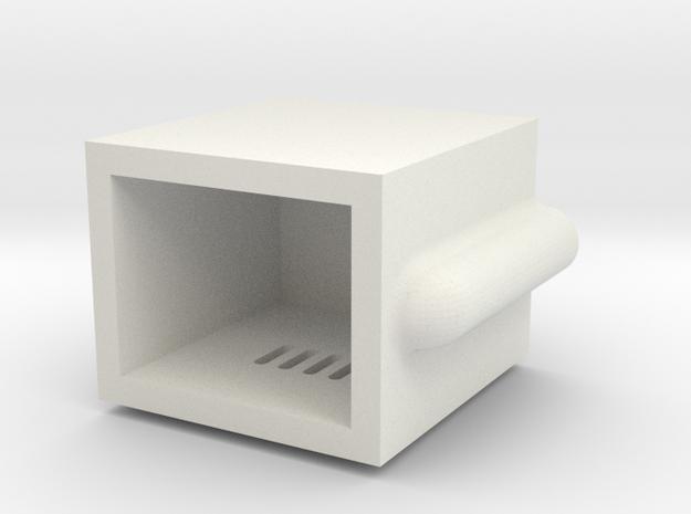 Gauge 3 L&Y D21 Stove in White Natural Versatile Plastic
