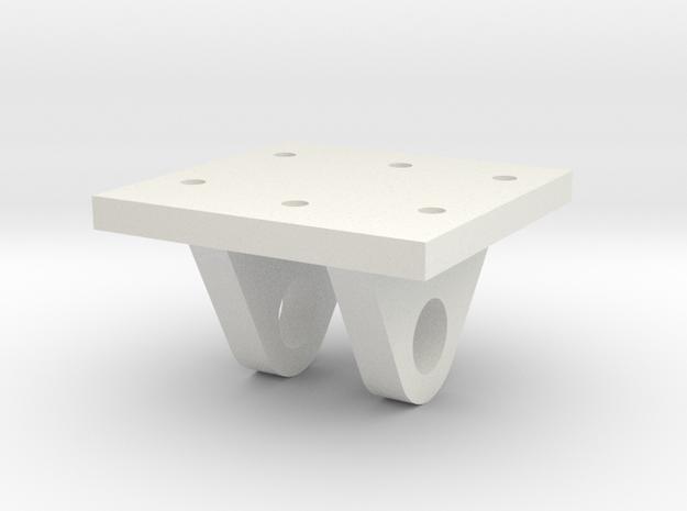 Gauge 3 L&Y D21 Brake crank base in White Natural Versatile Plastic