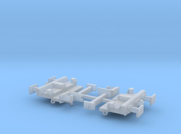 Freightliner KFA Headstock Square Pocket Set in Smooth Fine Detail Plastic