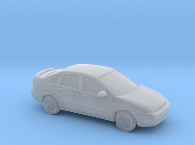 1/220  2000-04 Ford Focus Sedan in Smooth Fine Detail Plastic