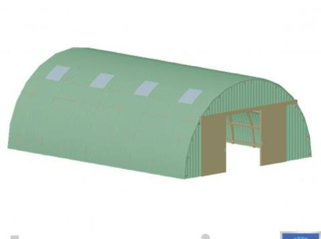Small Romneyshed/ Kleine Romneyloods 3d printed Impression of the Romneyshed