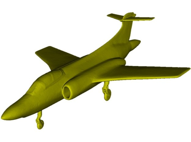 1/350 scale Blackburn Buccaneer aircraft model x 1 in Smooth Fine Detail Plastic