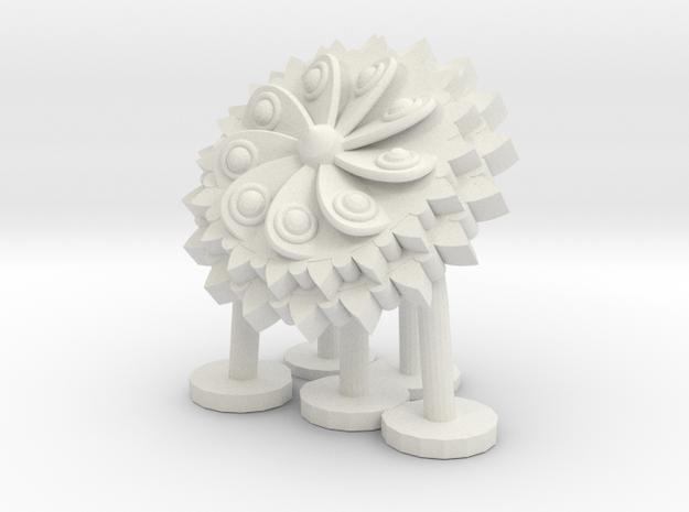 orecchino3 in White Natural Versatile Plastic