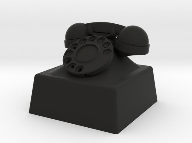 telephone cherry MX keycap in Black Strong & Flexible