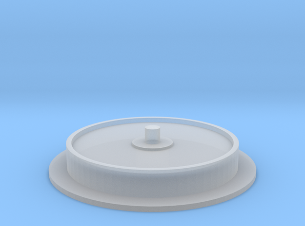 Single Wheel v.1 1/25 Scale in Smooth Fine Detail Plastic