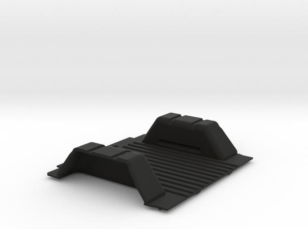 CMAX Bronco Rear Floor in Black Natural Versatile Plastic