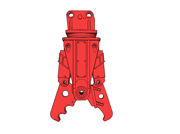 HO - Demolition Shear for 25-35t excavators