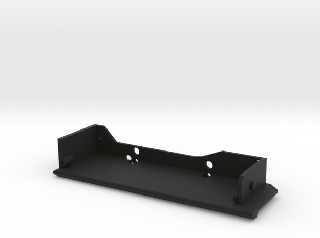 CMAX Comanche Left Slider Footwell in Black Natural Versatile Plastic