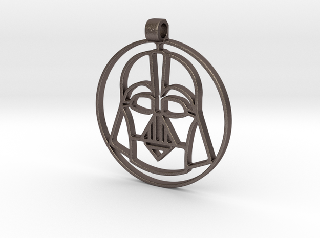 Darth vador pendant in Stainless Steel: 28mm