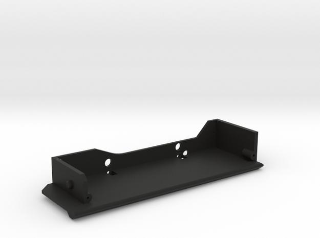 CMAX Comanche Right Slider Footwell in Black Natural Versatile Plastic
