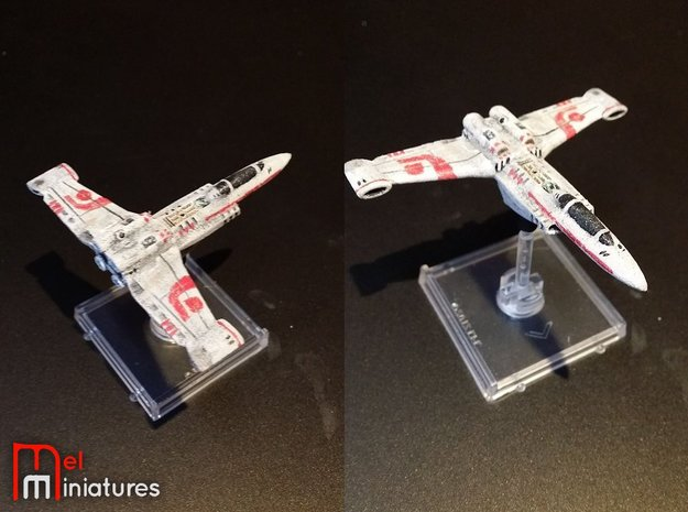 Planetary Fighter 1/270  in White Natural Versatile Plastic