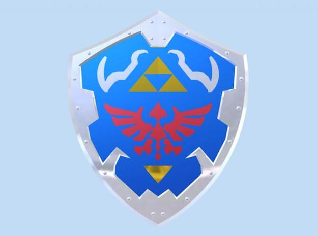 Royal Shield I 3d printed Render