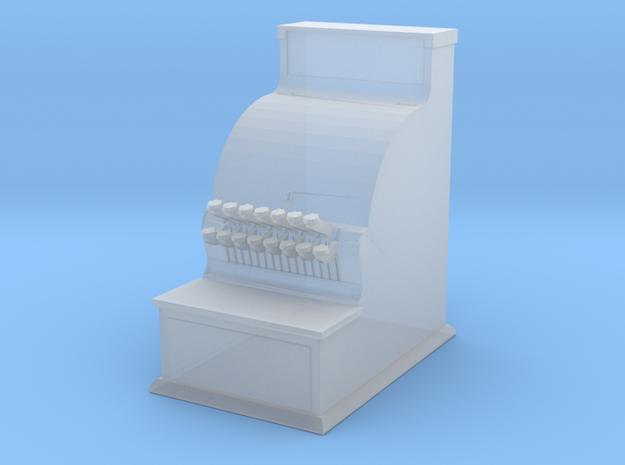 O scale cash register in Smoothest Fine Detail Plastic