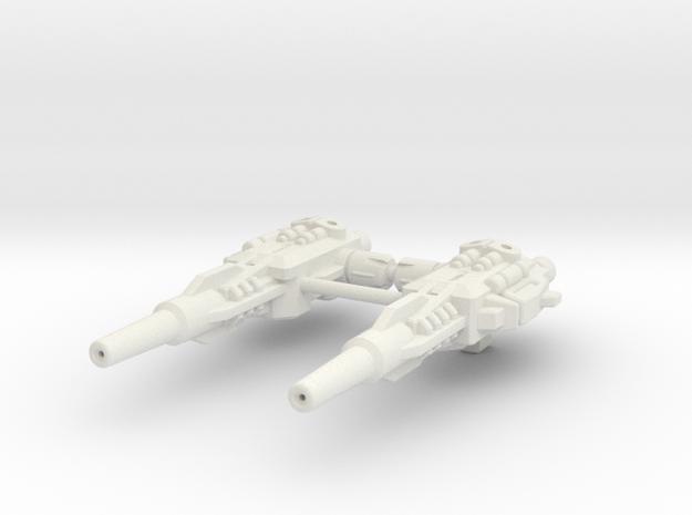 POTP Dreadwind Blasters in White Strong & Flexible