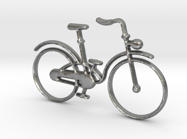 Bicycle  in Natural Silver