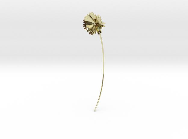 Daisy earring in 18k Gold Plated Brass