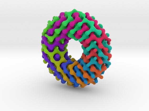 Möbius diamond lattice