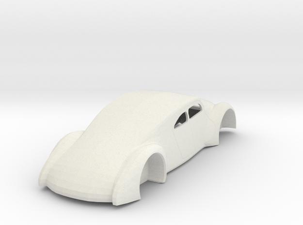 Auto Union T52  1/24  in White Natural Versatile Plastic