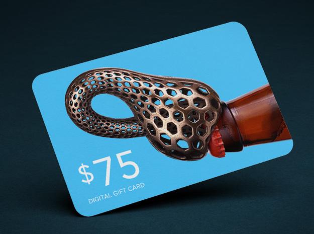 $75 Digital Gift Card in $75 Digital Gift Card