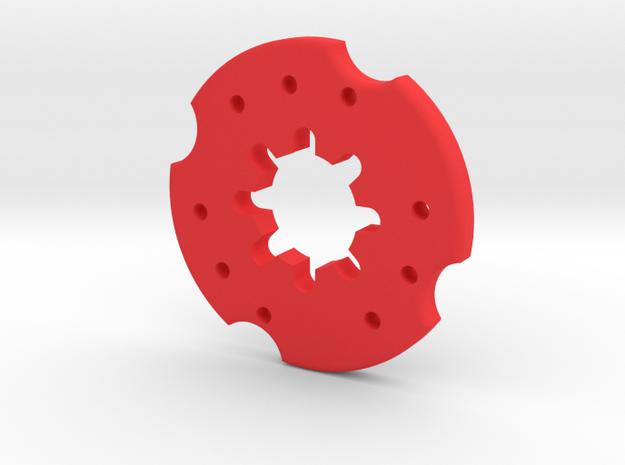 Fendt Felgengewicht in Red Processed Versatile Plastic