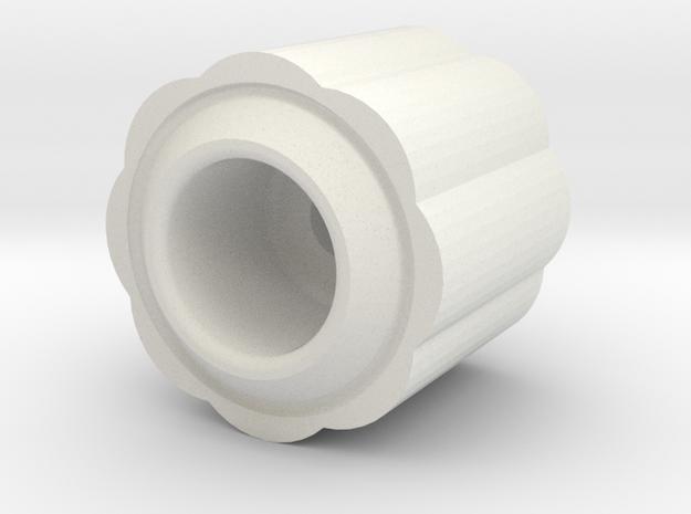 Konggi Begleri in White Natural Versatile Plastic