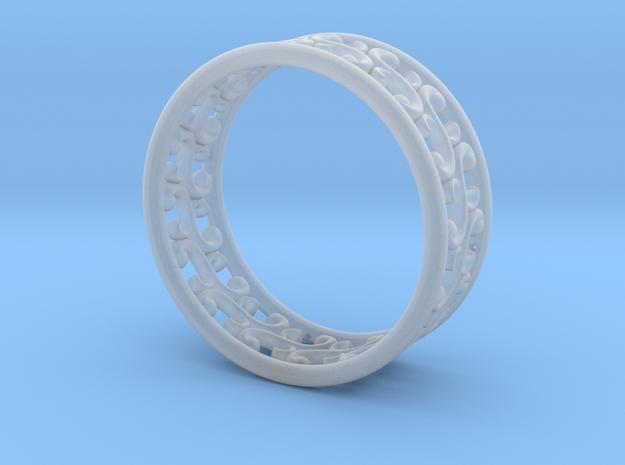 "Bracelet ""Rotate"" in Smooth Fine Detail Plastic: Medium"