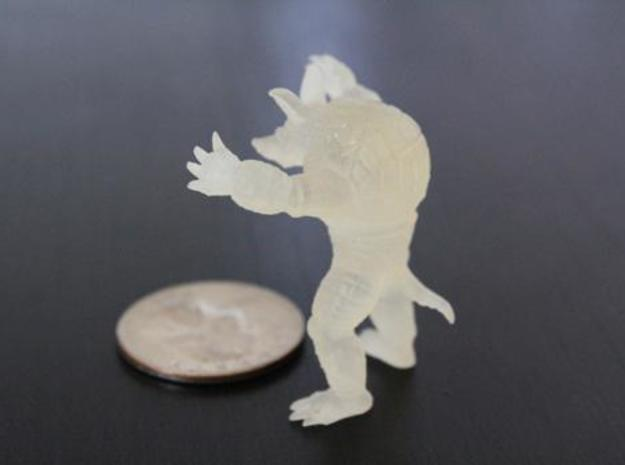 Armadillo small 3d printed Description