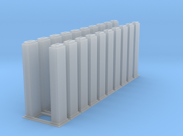 1/64 10k trunking 10pcs in Smooth Fine Detail Plastic