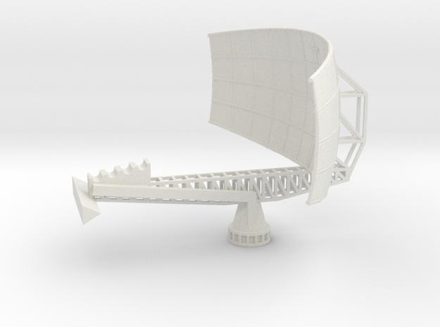 1/96 Scale AN/SPS-49 RADAR in White Natural Versatile Plastic