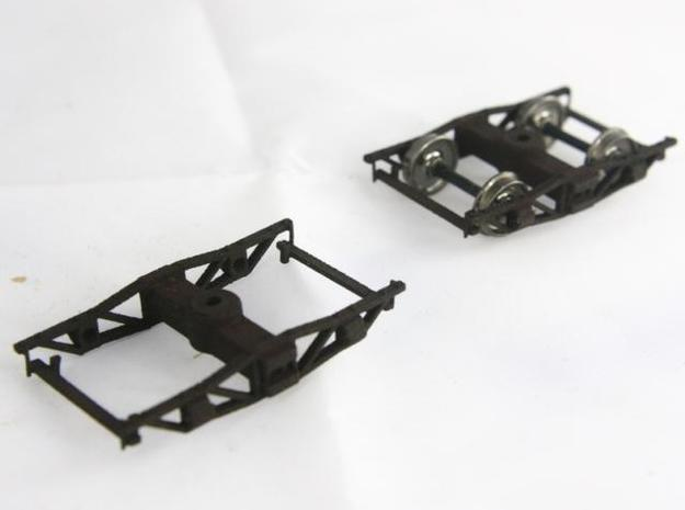 On30 Pair of logging archbar trucks 3d printed