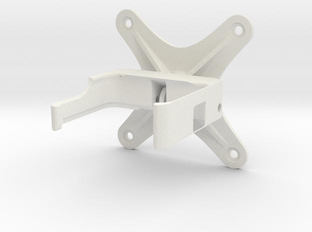 Go Pro Camera mount in White Natural Versatile Plastic