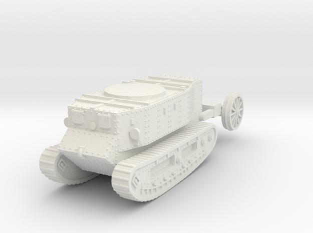 1/72 Little Willie tank in White Strong & Flexible
