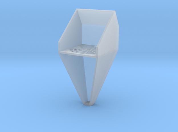 1/64 Bin Roof Exhauster Fan in Smooth Fine Detail Plastic
