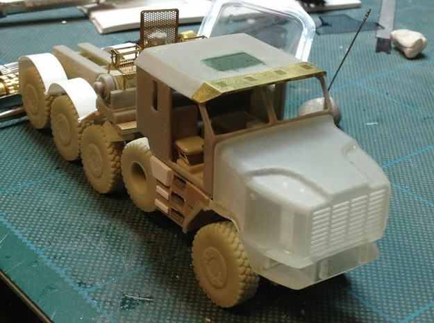 Oshkosh-1-72 in Smooth Fine Detail Plastic
