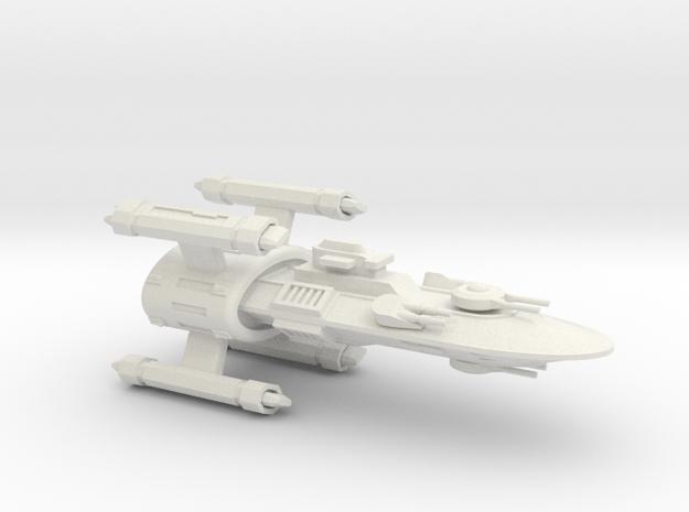 Hyborean Orkney Strike Cruiser in White Strong & Flexible