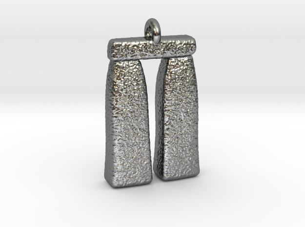 StoneHenge in Polished Silver