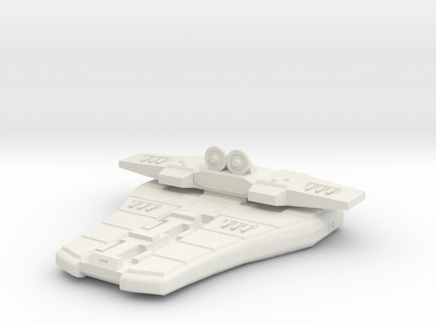 3788 Scale Maesron Missile Scout MGL in White Natural Versatile Plastic
