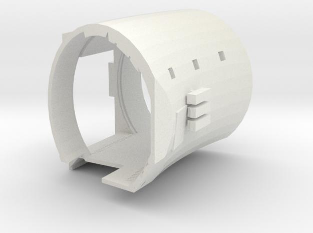 Perfect Grade Falcon 1:72 Ramp Hall 1A: Ledge in White Natural Versatile Plastic