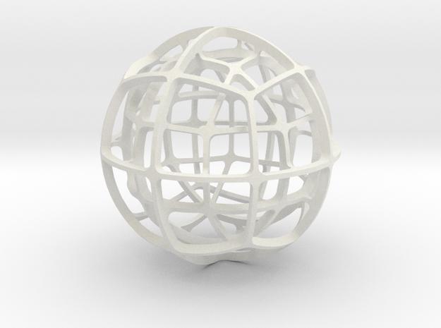 DUAL_PAIR_No.5 in White Natural Versatile Plastic