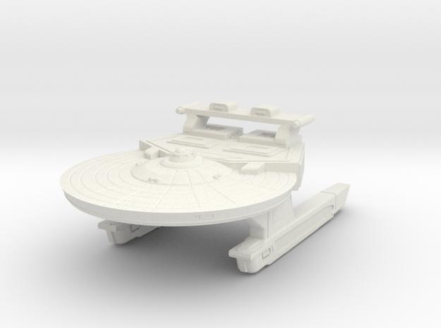 Light Battle Cruiser in White Natural Versatile Plastic