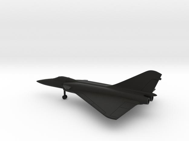 Dassault Super Mirage 4000 in Black Natural Versatile Plastic: 1:200